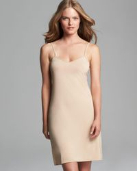 Calvin Klein | Natural Launch Full Slip | Lyst