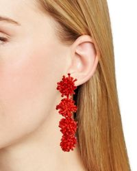 BaubleBar - Red Ria Drop Earrings - Lyst