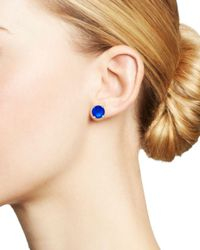 Ippolita - Blue Sterling Silver Wonderland Stud Earrings In Ultramarine - Lyst