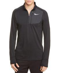 Nike - Black Dri-fit Thermal Element Top for Men - Lyst