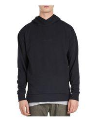 Zanerobe - Black Rugger Hooded Sweatshirt for Men - Lyst
