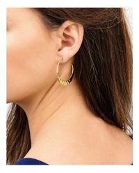 Gorjana - Metallic Silas Hoop Earrings - Lyst