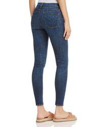 Hudson - Blue Barbara Skinny Jeans In Dream On - Lyst