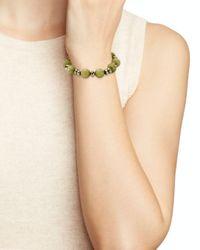 Bourbon and Boweties - Green Stretch Bracelet - Lyst