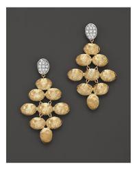 Marco Bicego - Metallic Siviglia Diamond Earrings - Lyst