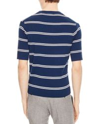 Sandro - Blue Keith Sweater for Men - Lyst