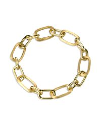 Marco Bicego | Metallic 18k Gold Murano Link Hand Engraved Bracelet | Lyst