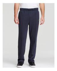 BOSS Green | Blue Hainy Track Pants for Men | Lyst