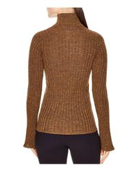 Sandro - Metallic Precilia Ribbed Shimmer Sweater - Lyst