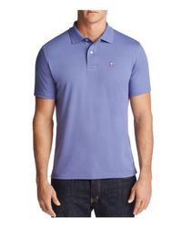 Psycho Bunny | Purple Regular Fit Golf Polo Shirt for Men | Lyst