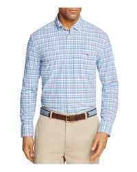 Vineyard Vines - Blue Jimson Check Tucker Classic Fit Button-down Shirt for Men - Lyst