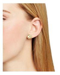 Argento Vivo - Metallic Round Stud Earrings - Lyst