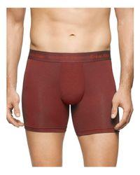 Calvin Klein - Red Body Modal Boxer Briefs for Men - Lyst