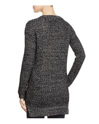 PPLA Black Lace Up Detail Sweater