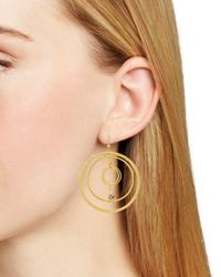 Chan Luu - Metallic Circle Earrings - Lyst