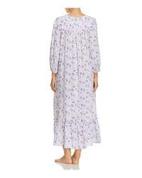 Eileen West - Purple Long Ballet Button Gown - Lyst