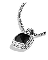 David Yurman | Metallic Albion Pendant With Black Onyx & Diamonds | Lyst