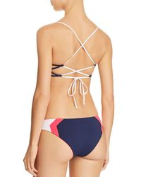 L*Space - Blue Haley Bikini Top - Lyst
