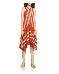 BCBGMAXAZRIA - Red Ada Asymmetric Dress - Lyst