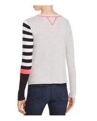 Lisa Todd - Multicolor Hi! Asymmetric Print Sweater - Lyst