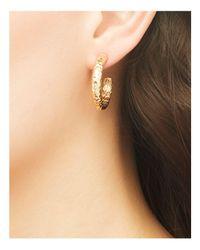 John Hardy - Metallic Palu 18k Gold Medium Hoop Earrings - Lyst