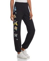 Wildfox - Black Flash Sommers Sweatpants - Lyst