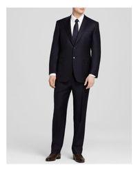 Canali - Blue Firenze Regular Fit Suit for Men - Lyst