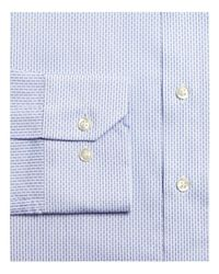 Bloomingdale's - Blue Dobby Slim Fit Dress Shirt for Men - Lyst