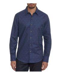 Robert Graham - Blue Gouverneur Sport Shirt for Men - Lyst