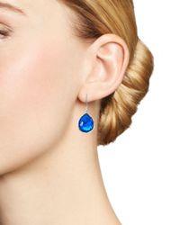 Ippolita - Blue Sterling Silver Rock Candy® Wonderland Mini Teardrop Earrings In Ultramarine - Lyst