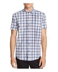 W.r.k. - Blue Plaid Slim Fit Button-down Shirt for Men - Lyst