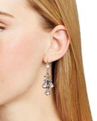 Sorrelli - Metallic Satin Leverback Earrings - Lyst