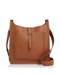 Rebecca Minkoff - Multicolor Unlined Whipstitch Feed Pebbled Leather Crossbody - Lyst