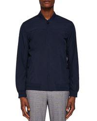 Ted Baker Blue Ohta Core Bomber Jacket for men