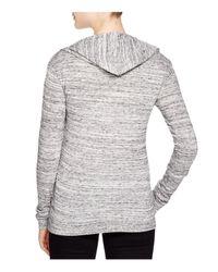 Alternative Apparel - Gray Eco Jersey Classic Hoodie - Lyst