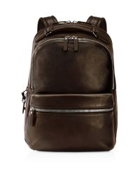 Shinola - Brown Men's Runwell Leather Backpack for Men - Lyst