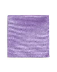 Armani   Purple Zig Zag Pocket Square for Men   Lyst