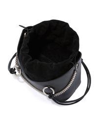 Meli Melo - Black Ornella Leather Shoulder Bag - Lyst
