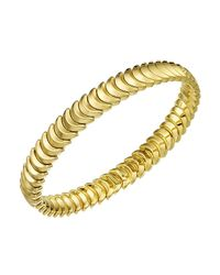 Chimento - Metallic 18k Yellow Gold Armillas Collection Ridge Curve Bracelet - Lyst