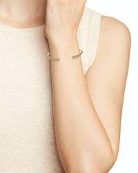 Nadri - Metallic Dappled Bottom Hinge Bracelet - Lyst