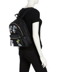 Marc Jacobs - Black Trek Pack Badges Medium Backpack - Lyst