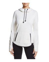 Marc New York - White Andrew Marc Performance Heathered Pullover Hoodie - Lyst