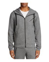 Blank NYC - Gray Drawstring Hoodie for Men - Lyst