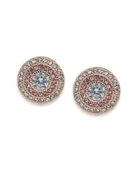 Ralph Lauren - Metallic Lauren Clip On Stud Earrings - Lyst