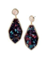 BaubleBar - Multicolor Evangelia Drop Earrings - Lyst