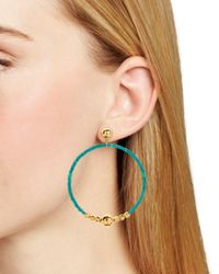 Gorjana - Multicolor Sayulita Hoop Earrings - Lyst