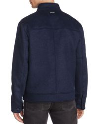 Marc New York - Blue Lenzen Bomber Jacket for Men - Lyst
