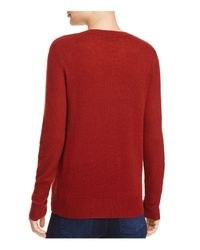 Theory Red Cashmere Sweater