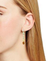 Nadri - Metallic Palma Crystal Linear Drop Earrings - Lyst