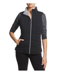 Marc New York - Black Andrew Marc Performance Quilted Knit Vest - Lyst